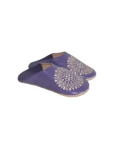 Slippers woman in purple...