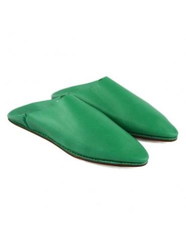 Slipper in real green...