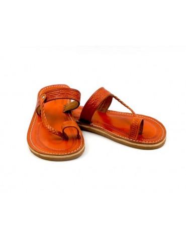 Sandali in pelle naturale
