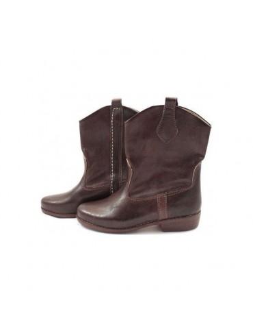 Handmade brown genuine...