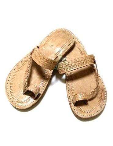 Sandali fatti a mano in pelle