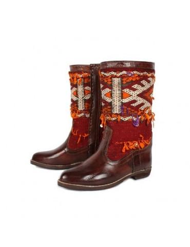 100% handmade genuine leather boot