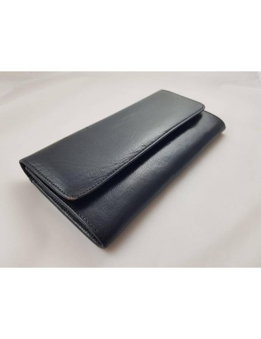 Real leather bill holder